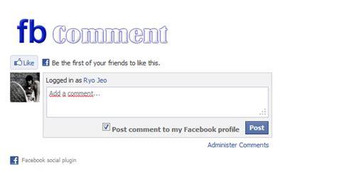 coding html membuat komentar cara membuat kotak komentar facebook di blog blog ndeso