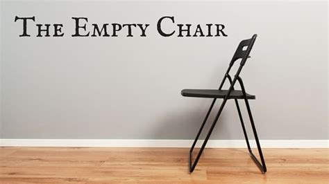 The Empty Chair by The Empty Chair Tony Agnesi