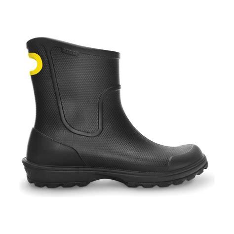 crocs boots mens crocs mens wellington boots ebay
