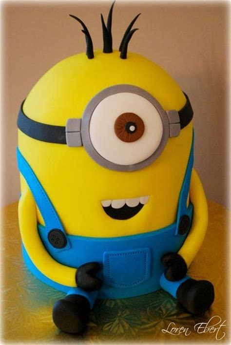 Kaos Minions Creativity 16 189 best minion cake images on cake minion conch fritters and gravity defying cake