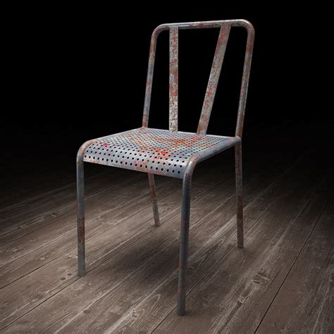 How To Make A Metal Chair by Creating A Painted Metal Material With Vray Viscorbel