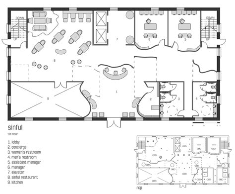 small restaurant floor plan ebony damieka leggett archinect
