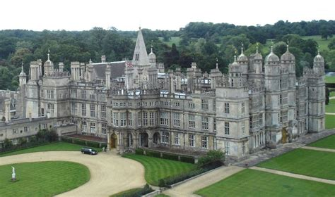 pride and prejudice mansion burghley house stamford lincolnshire england uk