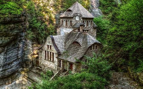 small houses that look like castles looks like a small castle in the woods castles cottages