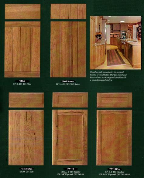 Flat Door Kitchen Cabinets by Cabinet Doors