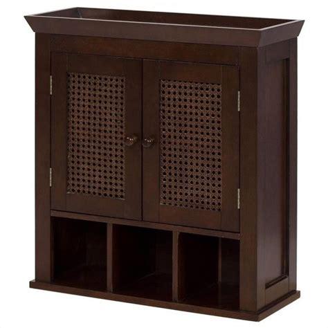 Brown Bathroom Wall Cabinet by 2 Door Wall Cabinet In Brown 6018
