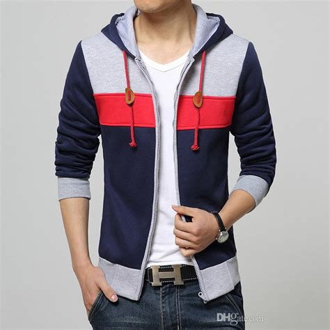 Home Design Korean Style Best Quality New Sping Fashion Men S Fleece Hoodies Men