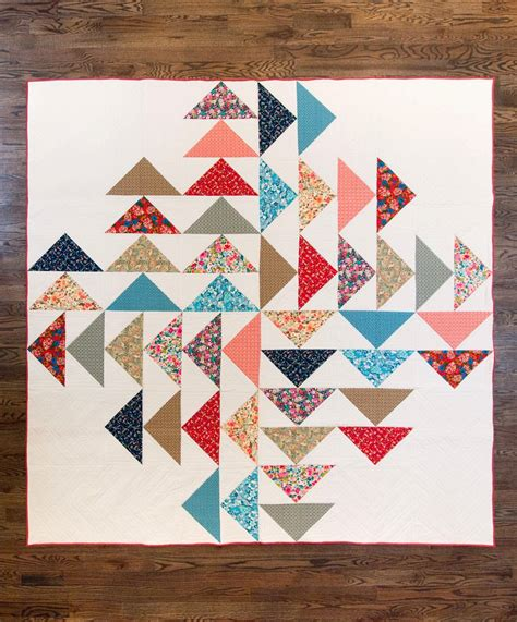 Patchwork Flying Geese - 15 flying geese quilts for inspiration simple simon and