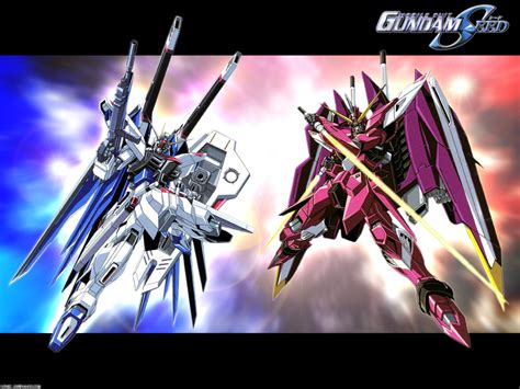 wallpaper gundam justice mobile suit gundam seed wallpaper freedom and justice