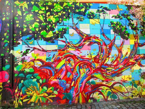 Jungle Wall Murals batman s alley the boldest and brightest of brazilian