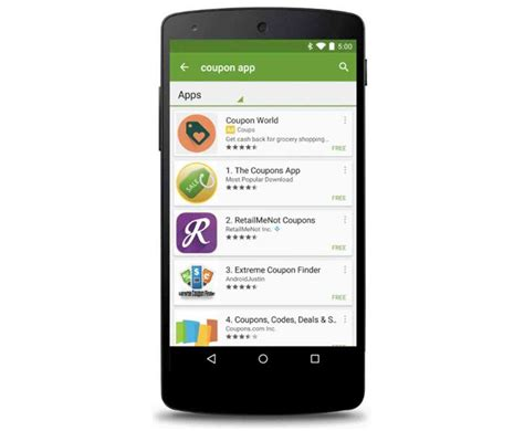 image search app android play store gaining sponsored android app search results phonedog