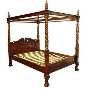 4 poster king size bed four poster bed king palzon com