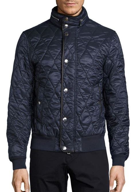 burberry burberry kilsden quilted jacket outerwear