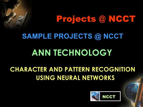pattern recognition using neural networks neural networks ver1