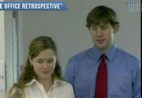 the office jim and pam krasinski and
