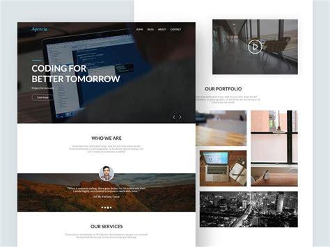 website layout wordpress plugin 37 elegant free one page psd website templates utemplates