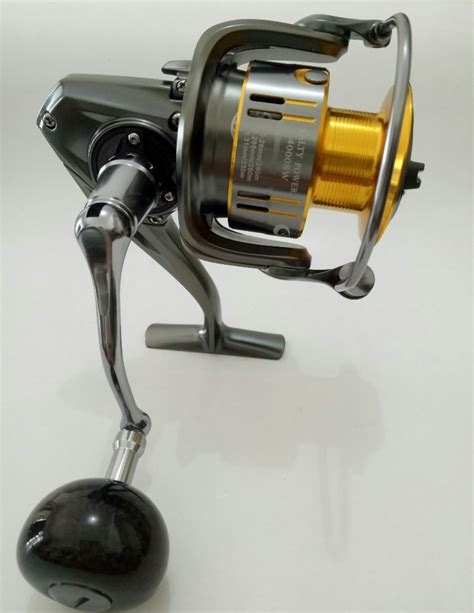 Reel Maguro Avenger 4000 Ratio 4 9 jual beli g tech salty power 4000sw baru jual beli