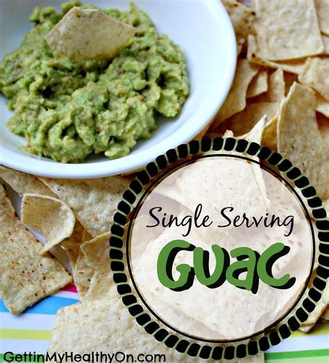 Single Serving Guac Guacamole And Tortilla Chips Healthy