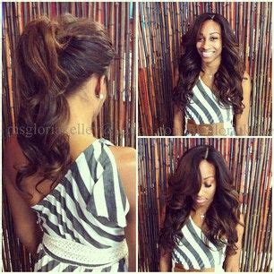 partial sew in hairstyles for synthetic hair fabulous sew in weave by gloria kelly out of florida book