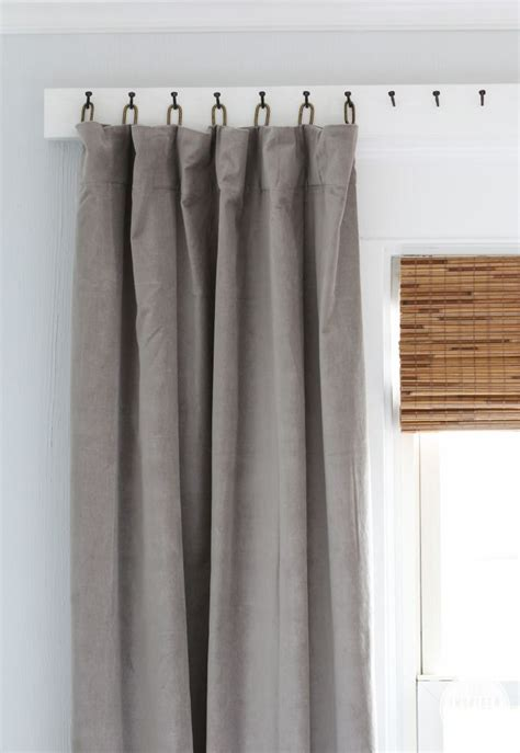 ways to hang curtains 15 ways to creatively hang your condo curtains