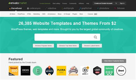 themeforest wordpress theme tutorial best themeforest alternatives for selling wordpress themes