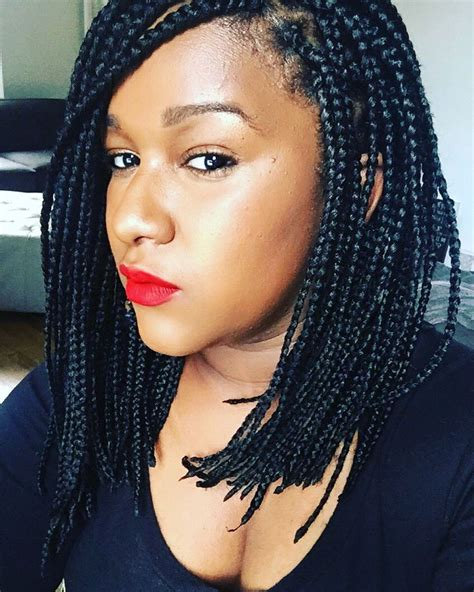 pinterest short box braids long bob box braids lob hair spiration pinterest