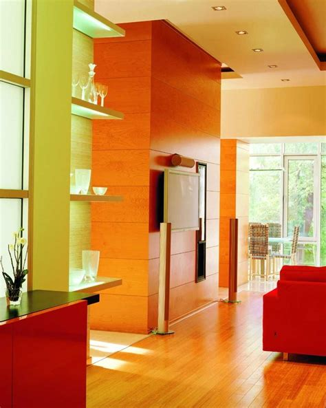 interior wall design eye for design citrus colored interiors