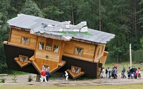upside down house poland worlds most unusual houses