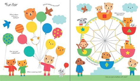 Usborne Book Of Things To Spot Out And About Board Book 1 book of things to spot out and about at