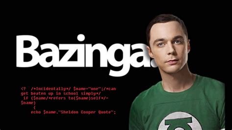 sheldon cooper quotes phpjoke sheldon cooper quote in php