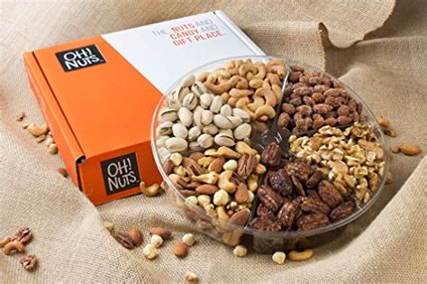 christmas holiday gourmet food baskets nuts gift basket mixed nuts 7 different nuts five star gift baskets nuts gift basket oh nuts x large tray roasted nut food baskets fathers