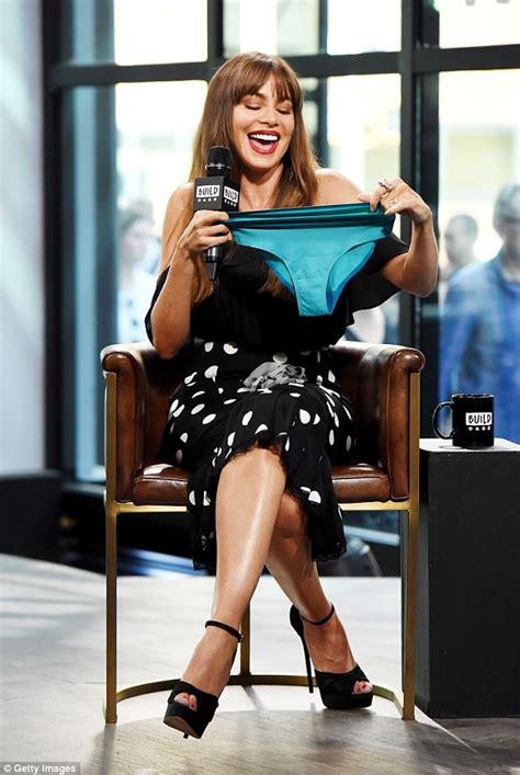 sofia vergara flaunts  figure  lingerie campaign