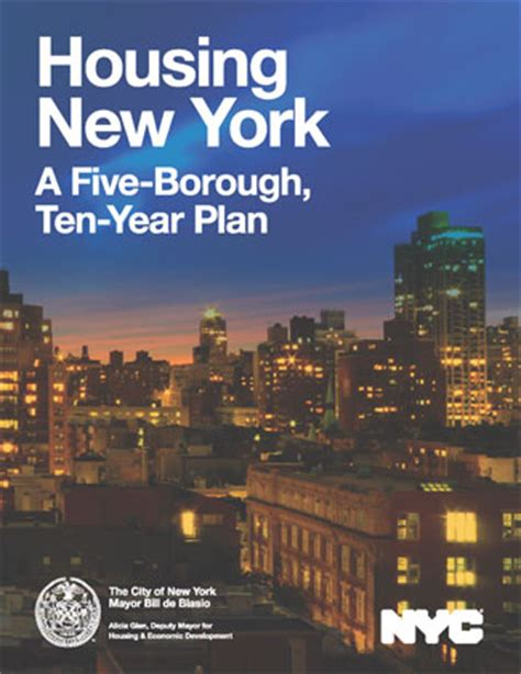 supportive housing nyc nyc mayor s 10 year housing plan urges investment in supportive housing network