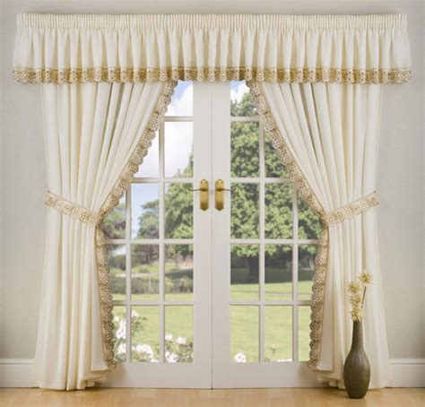 Peru Ready Made Lined Voile Curtains Uk Net Curtain Corner