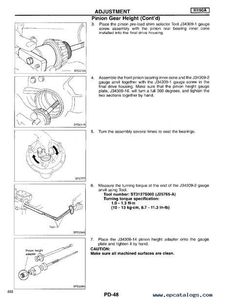 Nissan Truck Model D21 Series 1996 Service Manual Pdf