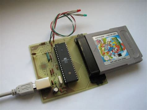 gameboy usb mod guide make a reprogrammable gameboy cartridge