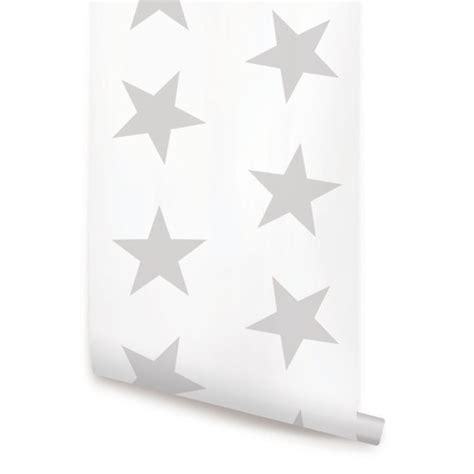 wallpaper grey stars star grey peel stick fabric wallpaper repositionable