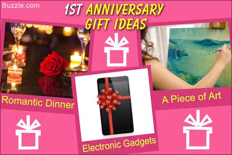 really innovative first anniversary gift ideas to surprise him