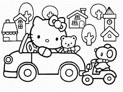 lulu kitty coloring pages lulu caty coloring pages image search results bebo pandco