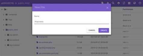 cara membuat file index html cara membuat file htaccess wordpress default