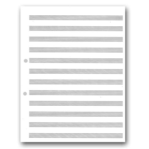 song writing paper a4 sheets pack of 500 writing paper at the works