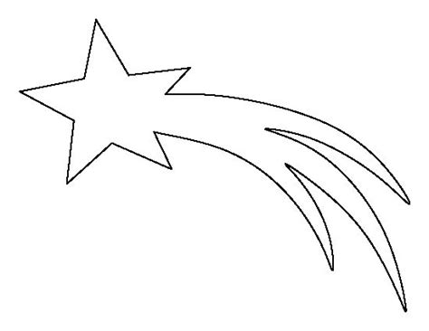 coloring pictures of shooting stars best 25 star template ideas on pinterest templates