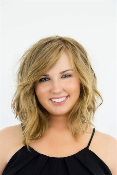 how to sytle a medium length lob to make wavy long hair to short b a photos how to get the best choppy