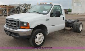 1999 ford f550 xl duty truck cab and chassis no