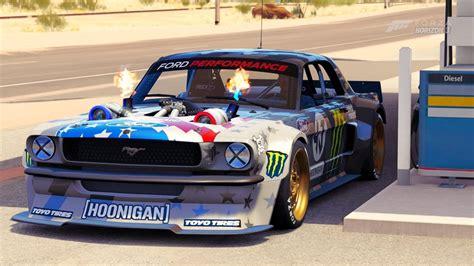 hoonigan mustang turbo forza horizon 3 hoonicorn mustang v2 drift hoonigan dlc
