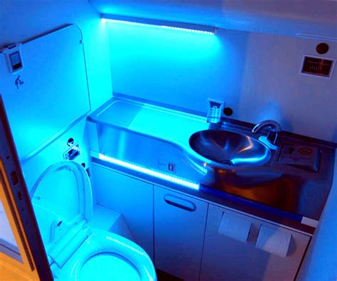 self cleaning bathroom self cleaning airplane bathroom to make flying less germy and smelly