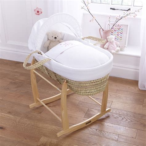 Boogy Baby To Toe Stardust Blue stardust palm moses basket