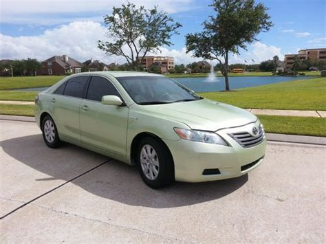 2009 Toyota Camry Mpg Purchase Used 2009 Toyota Camry Hybrid Sedan 4 Door 2 4l