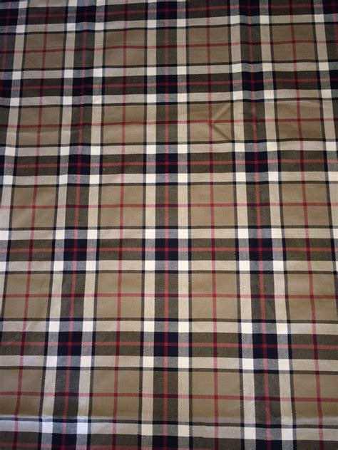 burberry upholstery fabric burberry inspired plaid fabric by the yard