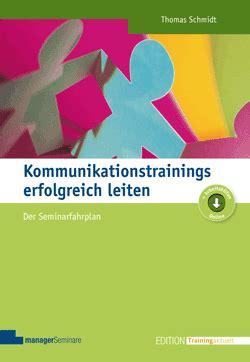 Kommunikationstrainings Erfolgreich Leiten Buch